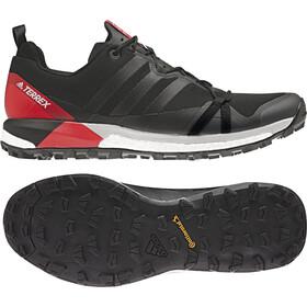 adidas TERREX Agravic Shoes Men Core Black/Carbon/Hi-Res Red